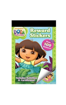 Dora Reward Sticker Activity Book