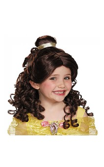 Belle Beauty And The Beast Child Wig