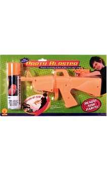 Fun Silly String Streamer & Shooter Blaster Gun
