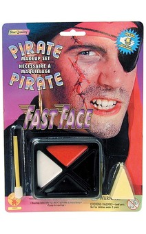 Pirate Costume Make Up