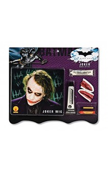 The Joker Wig And Make Up Kit Batman Costume Accessory
