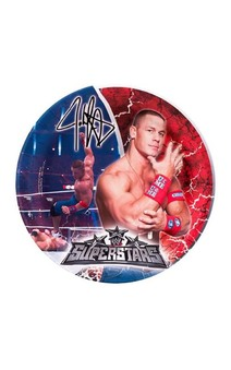 Wwe Johne Cena Wrestling Dinner Plates (8)