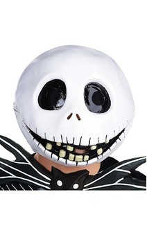 Jack Skellington Latex Mask