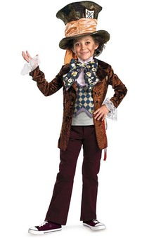 Mad Hatter Child Costume Alice in Wonderland