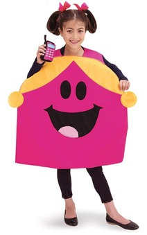 Little Miss Chatterbox Child Mr Men Costume