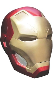 Iron Man Child 2pc Mask Makes A Full Helmet