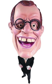 Talk Show Host David Latterman Mask