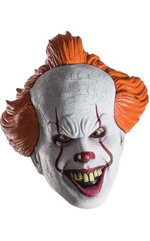 Pennywise It Movie Adult Mask