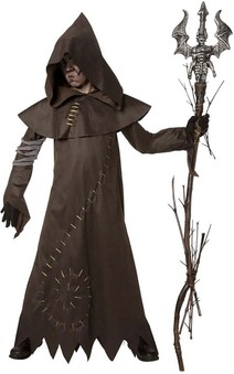 Evil Warlock Child Costume