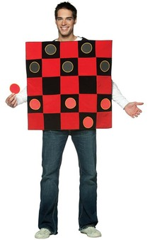 Chinese Checkers Draughts Adult Novelty Costume