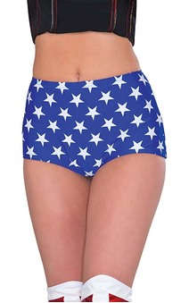 Wonder Woman Adult Hot Pants