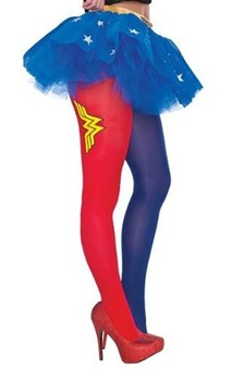Adult Wonder Woman Stockings Tights