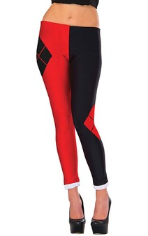 Adult Harley Quinn Leggings Tights