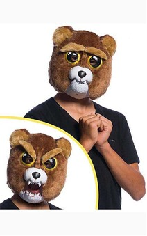 Sir Growls-a-lot Child Bear Mask Feisty Pets