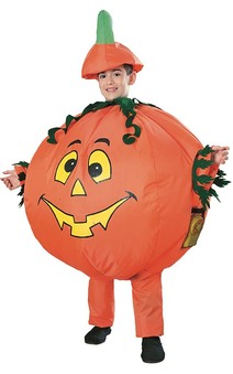 Inflatable Pumpkin Child Costume