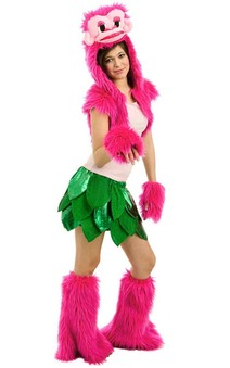 Brooklyn Pink Gorilla Teen Costume