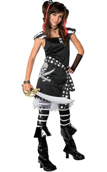 Scar-let Pirate Tween Costume