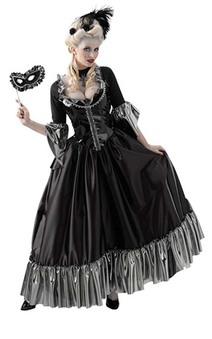 Masquerade Ball Queen Adult Costume