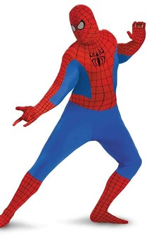 Spiderman 2nd Skin Bodysuit Adult Costume