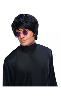 Black Pop Star John Lennon Adult Wig