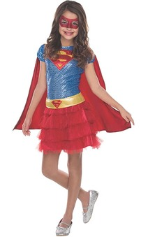 Supergirl Child Tutu Costume