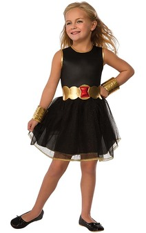 Black Widow Tutu Child Costume