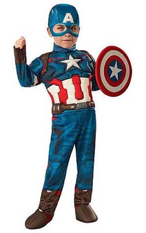 Captain America Muscle Chest Toddler Costume