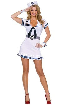 Cruise Cutie Navy Sailor Adult costume