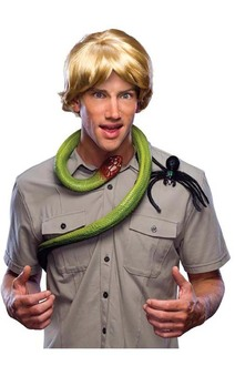 Steve Irwin Crocodile Hunter Blonde Adult Wig