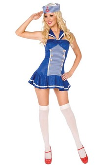 Sexy Sailor Navy Adult Costume