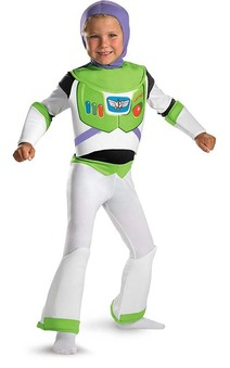 Buzz Lightyear Deluxe Toy Story Child Costume