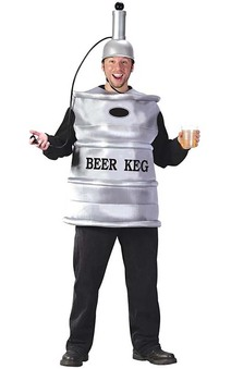 Beer Keg Adult Costume