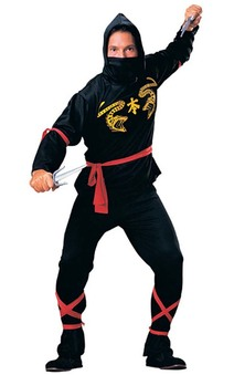 Ninja Karate Warrior Adult Costume