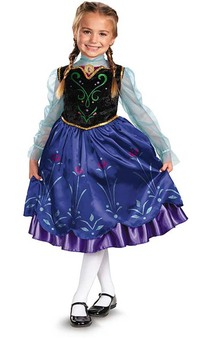 Deluxe Princess Anna Child Costume