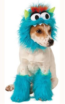Blue Monster Pet Dog Costume
