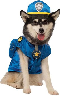 Chase Paw Patrol Police Dog Pet Costume