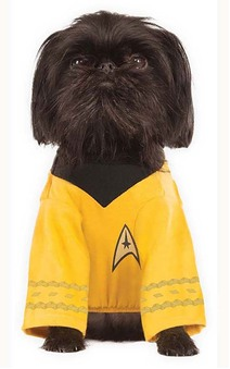 Captain Kirk Star Trek Pet Dog Costume
