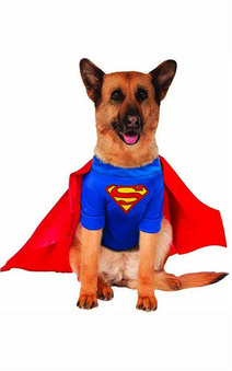Big Dogs Superman Pet Dog Superhero Costume