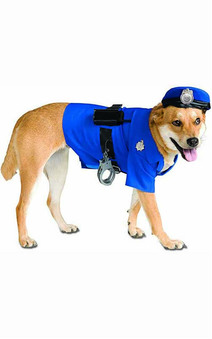 Big Dogs Police Officer Pet Dog Costume
