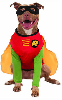 Big Dogs Robin Pet Dog Batman Costume