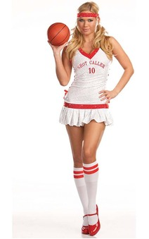 Sexy Basketball Adult Sports Costume
