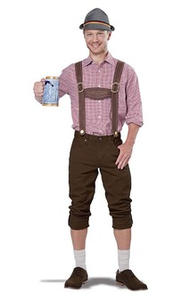 Lederhosen Kit Adult Costume
