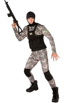Adult Navy Seal Military Costume