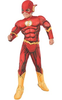 Deluxe Flash Child Costume