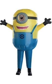 Inflatable Minion Stuart Child Costume