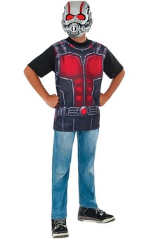 Ant-man T-shirt And Mask Child Costume