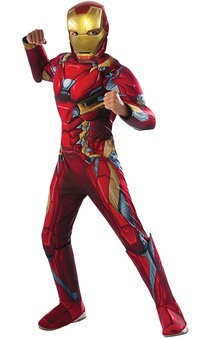 Deluxe Iron Man Child Costume