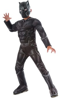Deluxe Black Panther Child Costume