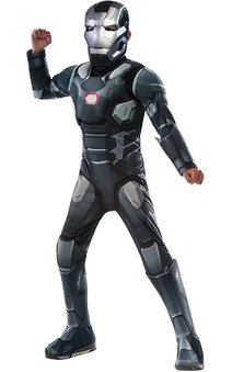 Deluxe War Machine Irom Man Child Costume