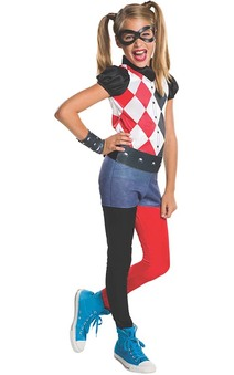 Harley Quinn Dc Super Hero Girls Costume